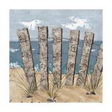Beach Scene Triptych I