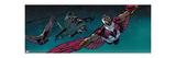 Avengers Assemble Artwork Featuring Falcon