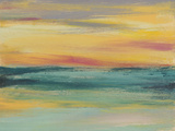 Sunset Study III Reproduction d'art par Jennifer Goldberger
