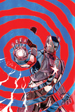"Iron Patriot 1 Cover Featuring Iron Patriot  James ""Rhodey"" Rhodes"