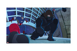 Avengers Assemble Animation Still Featuring Captain America  Red Skull  Winter Soldie