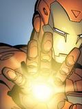 Avengers Assemble Artwork Featuring Iron Man