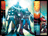 Ultimate Comics Ultimates 24 Featuring Captain America  Thor  Iron Man