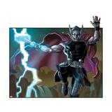 Avengers Assemble Artwork Featuring Thor