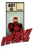Marvel Comics Retro Badge Featuring Daredevil