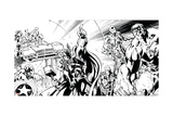 Avengers Assemble Inks Featuring Thor  Captain America  Hawkeye  Hulk  Iron Man