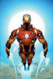 Invincible Iron Man 527 Cover Featuring Iron Man