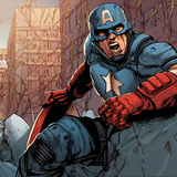 Avengers Assemble Panel Featuring Captain America