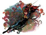 Marvel Comics Retro Badge Featuring Black Widow
