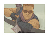 Avengers Assemble Panel Featuring Hawkeye
