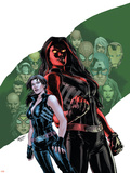 Red She-Hulk 58 Cover Featuring Red She-Hulk  Betty Ross