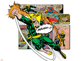 Marvel Comics Retro Badge Featuring Iron Fist