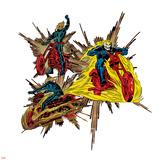 Marvel Comics Retro Badge Featuring Ghost Rider