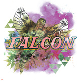 Marvel Comics Retro Badge Featuring The Falcon