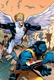 Uncanny X-Men 506 Cover Featuring Beast  Angel
