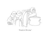 """Enough yin More yang"" - New Yorker Cartoon"