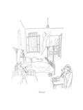 Siesta - New Yorker Cartoon