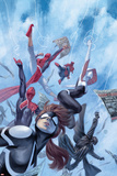 Web Warriors 1 Cover with Spider-Girl  Spider-Ham  Spider-Gwen  Spider-Man Noir  & More
