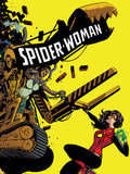Spider-Woman 8 Cover Featuring Spider Woman  Lady Caterpillar