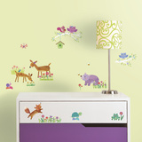 Woodland Baby Peel And Stick Wall Decals