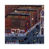 Harlem Street Scene  1943