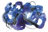 Blueberry Monster Giclée par Kim Johnson