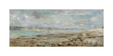 French Seascape with Sailboats