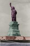 New York Postcard - Liberty