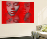 Red Beauty Mirrored