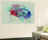 Fiat 500 Watercolor