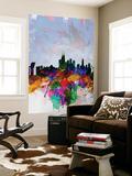 Copenhagen Watercolor Skyline