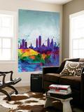 Philadelphia Watercolor Skyline