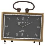 Beth Kushnick Brass Desk Clock