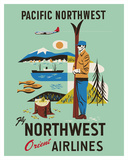 Pacific Northwest - Fly Northwest Orient Airlines