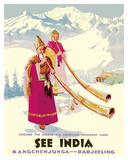 See India - Kangchenjunga near Darjeeling