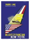 Mediterranean New York - Fabre Line Marseilles