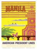 Manila  Philippines - American President Lines