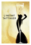 L'Instant Taittinger (The Taittinger Moment) - Champagne Advertisement - Grace Kelly