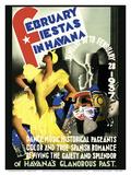February Fiestas in Havana  Cuba - January 30 to February 28  1937