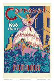 Panama Carnaval de (Carnival of) Feb 22-25  1936 - Viva La Reina (Hail to the Queen)