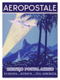 Aéropostale - Servico Postal Aereo (Air Mail Service) - Europe  Africa  South America
