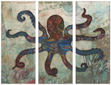Splash Tryptych Octopus