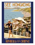 See Hong Kong - The Riviera of the Orient - China - Sedan (Jianyu) Shoulder Carriage