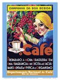 Café (Coffee) - Rio De Janeiro  Brazil