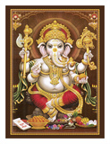 Lord Ganesha - Hindu Elephant Headed Deity - God of Wisdom  Knowledge and New Beginnings