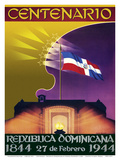 Centenario (Centennial) - Republica Dominicana (Dominican Republic) - 27th of February 1944-1844