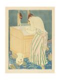 Woman Bathing  1890-1