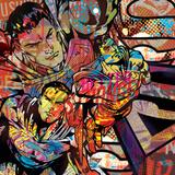 Superman - Comic Collage