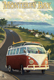 Monterey  California - VW Van