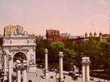 The Naval Arch at Madison Square  New York City